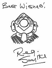 Original drawing of Reg Smythe
