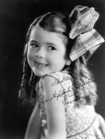 Signed picture of Dorothy DeBorba