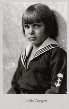 Portrait Of The Actor Jackie Coogan By Thomas Staedeli